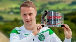Leigh Griffiths Player of the month award.