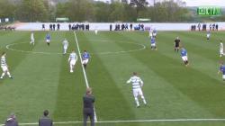 Celtic v Rangers - 1st Half