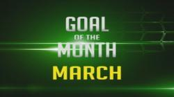 March goal of the month competition.