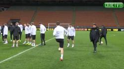 Celtic Training in Milan