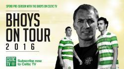Pre-season on Celtic TV