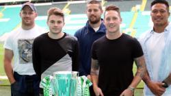 All Blacks visit Celtic Park