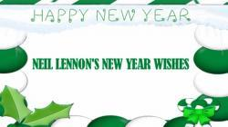 Happy New Year from Neil Lennon