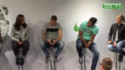 John Guidetti & Virgil van Dijk Beatbox