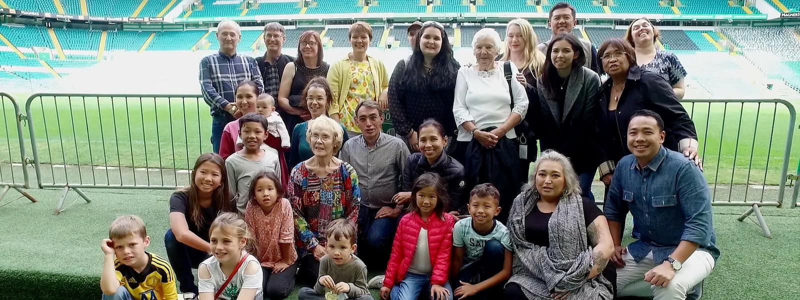 Family Reunion at Celtic Park