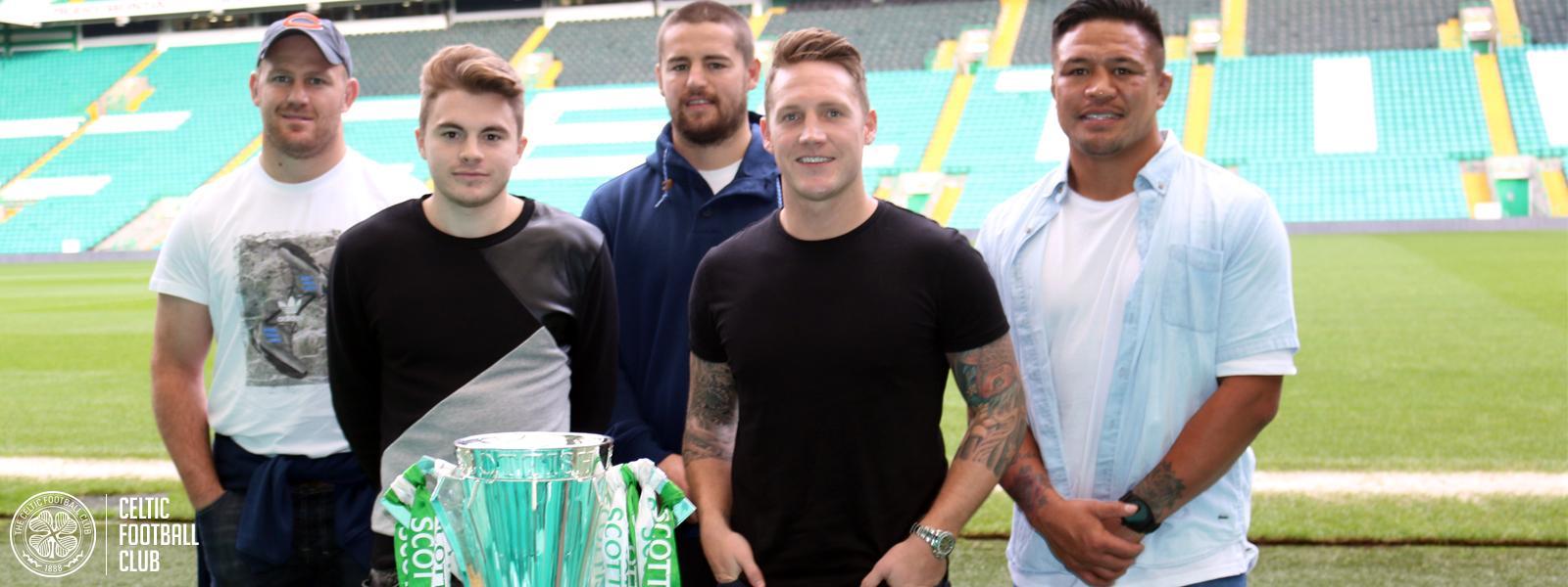 All Blacks visit Celtic Park